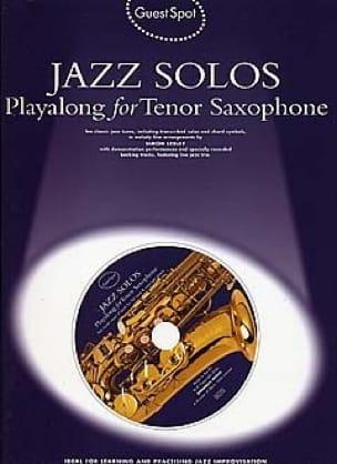 Guest Spot - Jazz Solos Playalong For Tenor Saxophone - laflutedepan.com