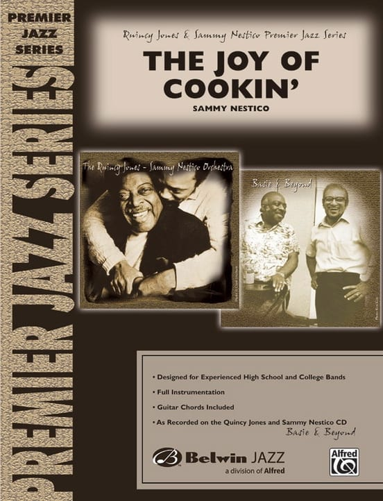 The Joy of Cookin' - Sammy Nestico - Partition - laflutedepan.com