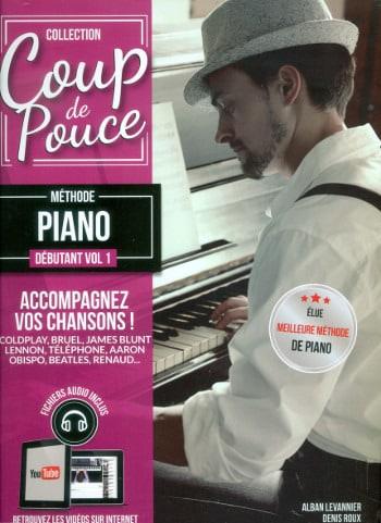 Méthode Piano Débutant Volume 1 - COUP DE POUCE - laflutedepan.com