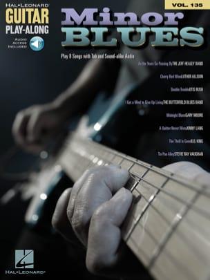 Guitar Play-Along Volume 135 - Minor Blues - laflutedepan.com