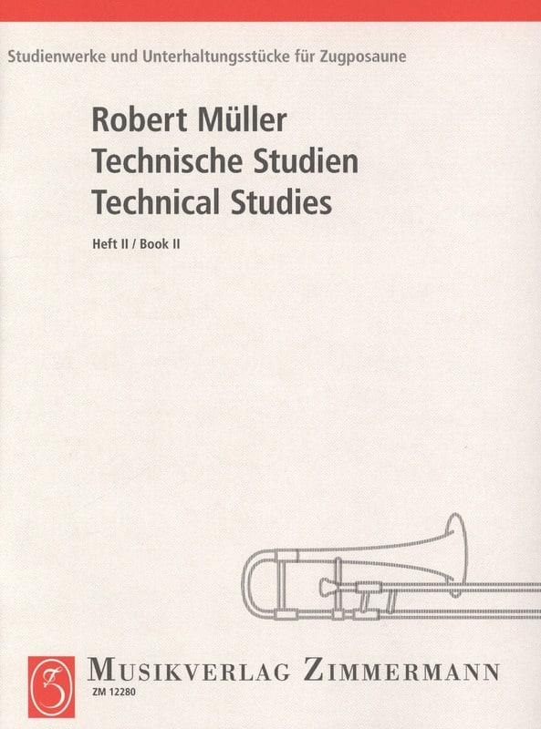 Technical Studies Volume 2 - Robert Müller - laflutedepan.com