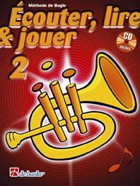 Ecouter Lire et Jouer - Méthode Volume 2 - Bugle DE HASKE laflutedepan