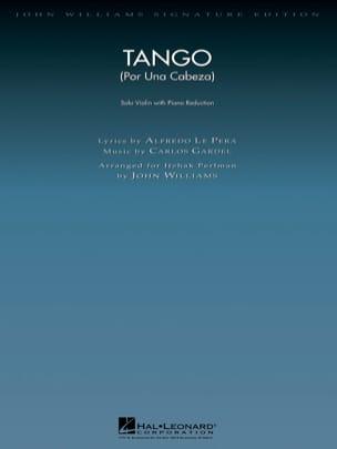 Tango Por Una Cabeza Carlos Gardel Partition Violon - laflutedepan