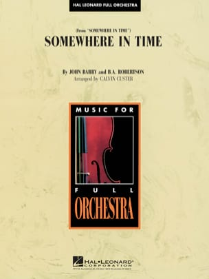 Somewhere in Time - John Barry - Partition - laflutedepan.com