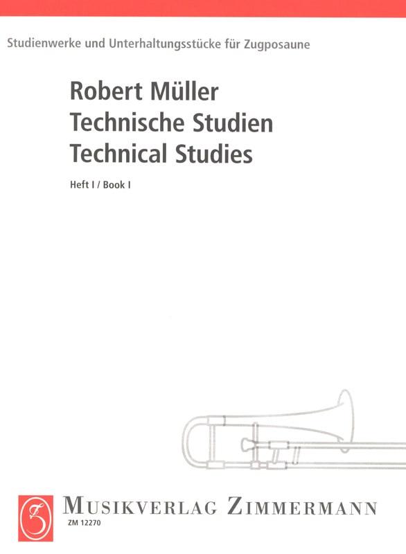 Technical Studies Volume 1 - Robert Müller - laflutedepan.com