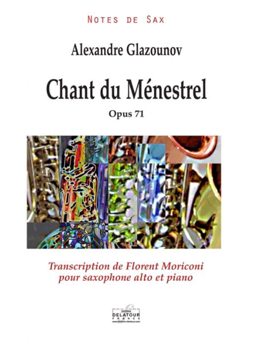 Chant du Ménestrel - GLAZOUNOV - Partition - laflutedepan.com