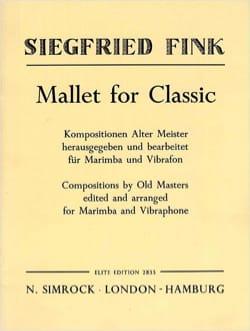 Mallet For Classic - Partition - laflutedepan.com