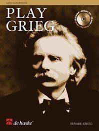 Play Grieg GRIEG Partition Saxophone - laflutedepan