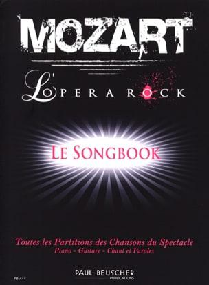 Mozart - L'opéra rock Partition Comédie musicale - laflutedepan