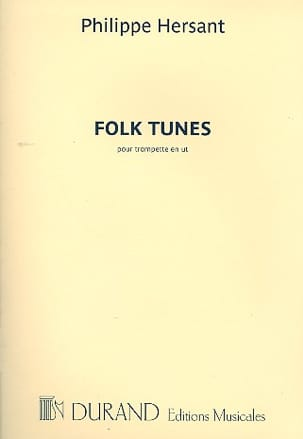 Folk tunes - Philippe Hersant - Partition - laflutedepan.com