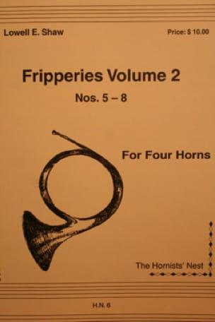 Fripperies Volume 2 N° 5-8 - Lowell E. Shaw - laflutedepan.com