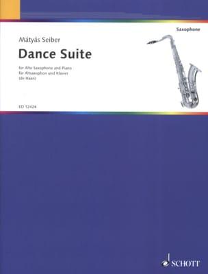 Dance Suite Matyas Seiber Partition Saxophone - laflutedepan