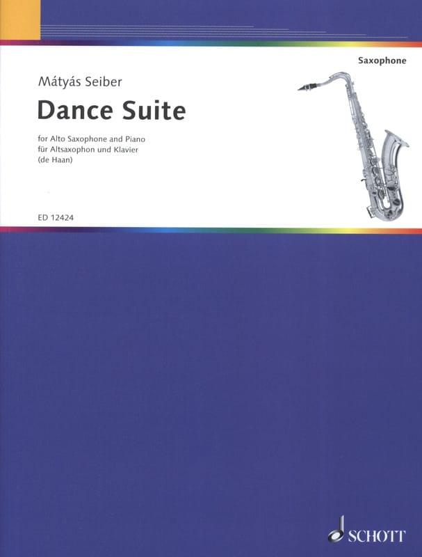 Dance Suite - Matyas Seiber - Partition - Saxophone - laflutedepan.com