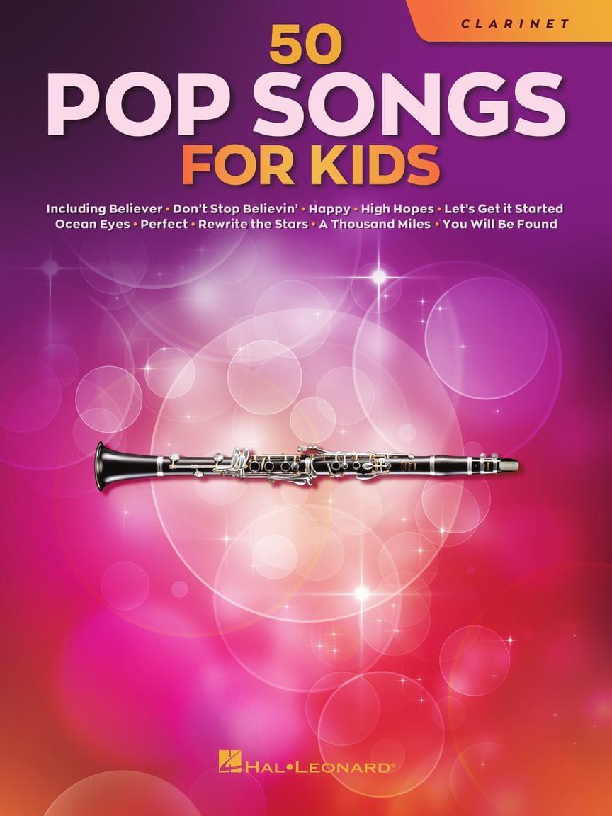 50 Pop Songs for Kids - Clarinette - Partition - laflutedepan.com