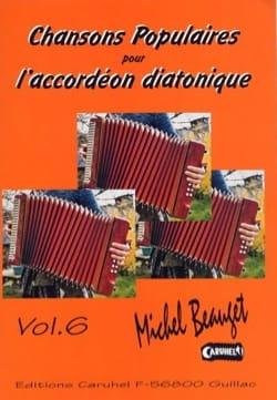 Chansons Populaires Pour L' Accordéon Diatonique Volume 6 laflutedepan
