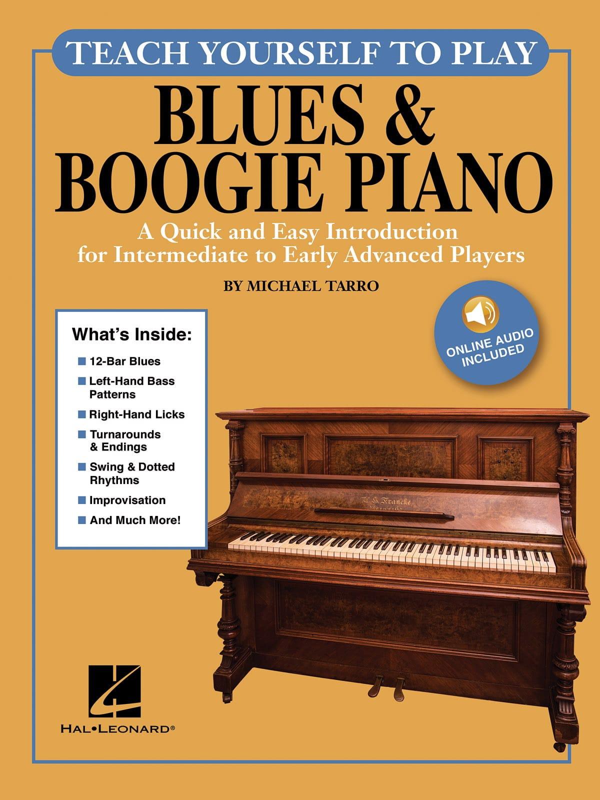 Teach Yourself to Play Piano - Blues & Boogie Piano - laflutedepan.com