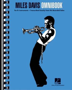 Miles Davis Omnibook - Bb Miles Davis Partition laflutedepan