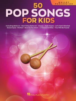 50 Pop Songs for Kids - Clavier à Percussions Partition laflutedepan