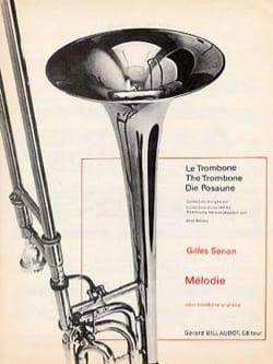 Mélodie Gilles Senon Partition Trombone - laflutedepan