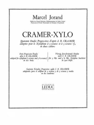 40 Etudes D'après Cramer Volume 1 Marcel Jorand Partition laflutedepan