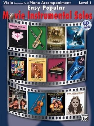 Easy popular movie instrumental solos Partition Alto - laflutedepan