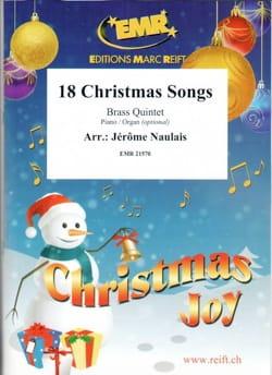18 Christmas Songs - Quintette de Cuivres Noël Partition laflutedepan