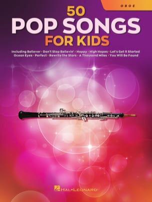 50 Pop Songs for Kids - Hautbois Partition Hautbois - laflutedepan