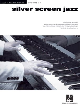 Jazz Piano Solos Series Volume 37 - Silver Screen Jazz - laflutedepan.com