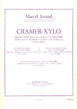 40 Etudes D'après Cramer Volume 2 Marcel Jorand Partition laflutedepan