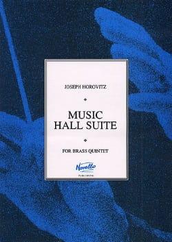 Music Hall Suite - Parties Joseph Horovitz Partition laflutedepan