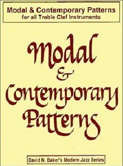 Modal & Contemporary Patterns - David N. Baker - laflutedepan.com