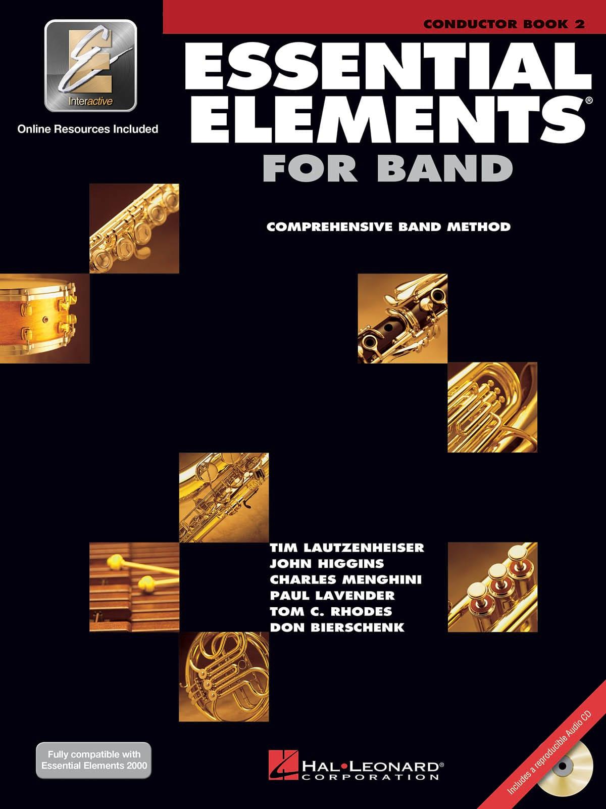 Essential Elements for Band - Book 2 - Score - laflutedepan.com