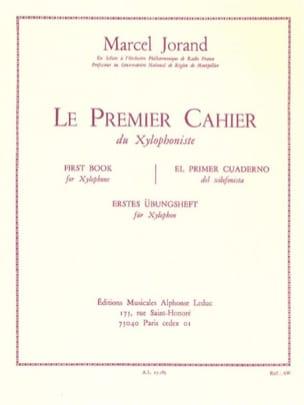 Premier cahier du xylophoniste Marcel Jorand Partition laflutedepan