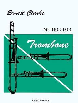 Method For Trombone Ernest Clarke Partition Trombone - laflutedepan