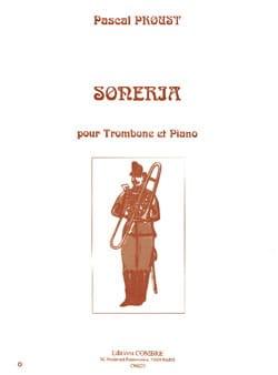 Soneria Pascal Proust Partition Trombone - laflutedepan
