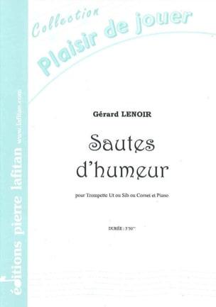 Sautes D' Humeur Gérard Lenoir Partition Trompette - laflutedepan