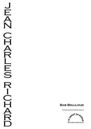 Jean-Charles Richard - Bab Boujloud - Partition - di-arezzo.fr
