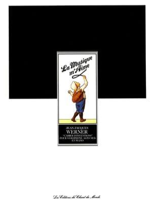 Cahier D' Inventions Jean-Jacques Werner Partition laflutedepan