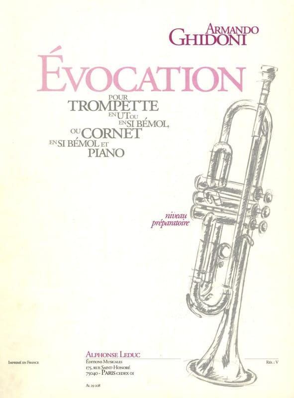 Evocation - Armando Ghidoni - Partition - Trompette - laflutedepan.com