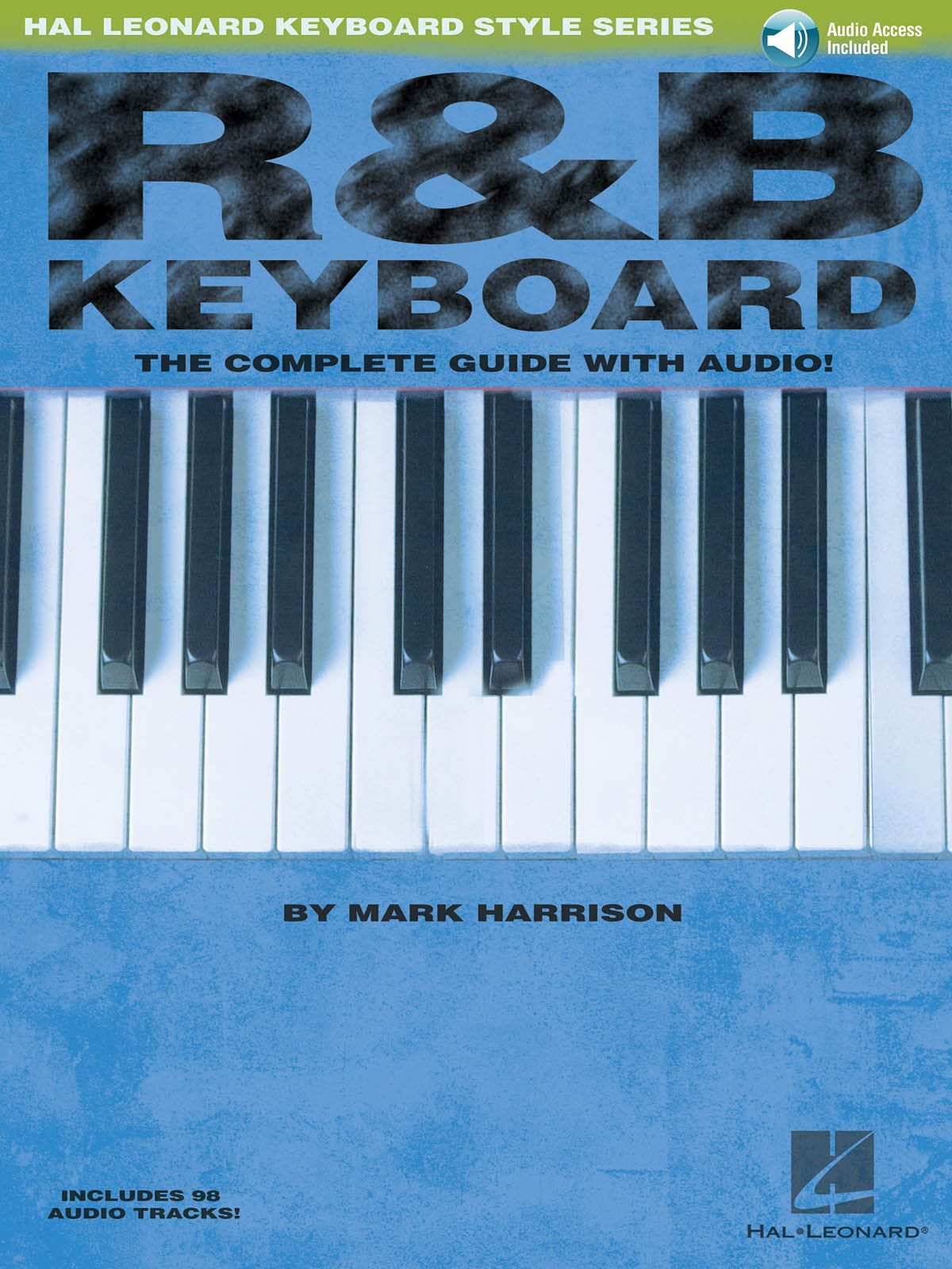 R&B Keyboard - Mark Harrison - Partition - Jazz - laflutedepan.com