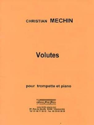 Volutes - Christian Mechin - Partition - Trompette - laflutedepan.com