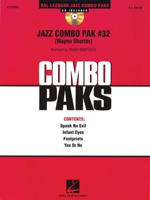 Jazz Combo Pak # 32 Wayne Shorter Partition ENSEMBLES - laflutedepan