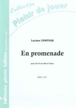 En Promenade Lucien Contois Partition Cor - laflutedepan
