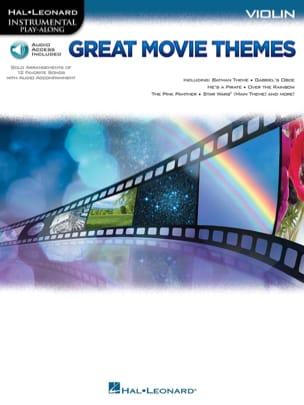 Great Movie Themes Partition Violon - laflutedepan