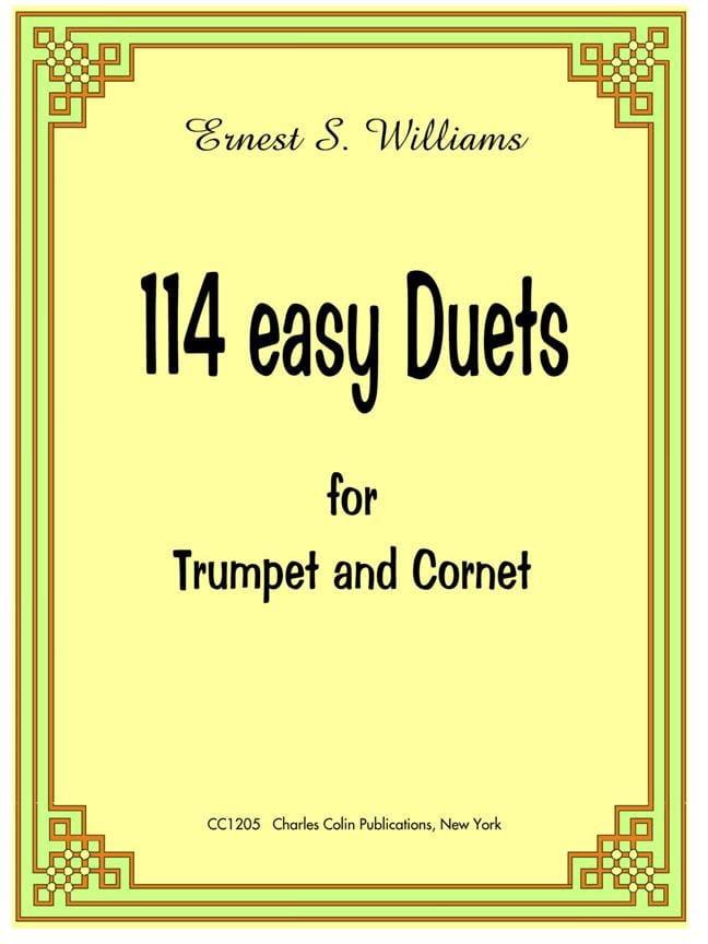 114 Easy Duets - Ernest S. Williams - Partition - laflutedepan.com