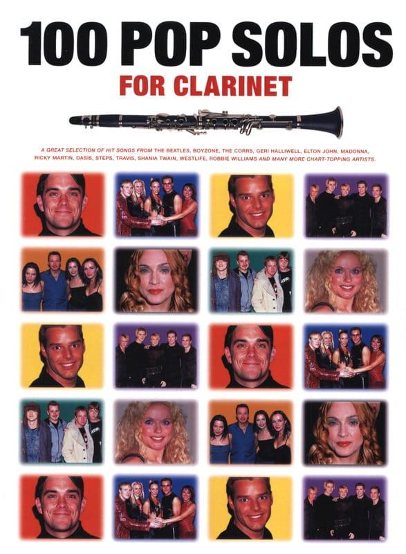 100 Pop Solos For Clarinette - Partition - laflutedepan.com