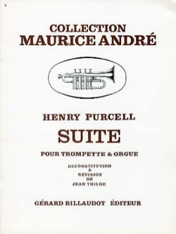 Suite PURCELL Partition Trompette - laflutedepan