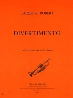 Divertimento Jacques Robert Partition Trompette - laflutedepan
