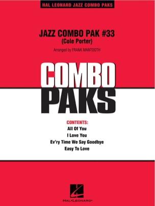 Jazz Combo Pak # 33 Cole Porter Partition ENSEMBLES - laflutedepan