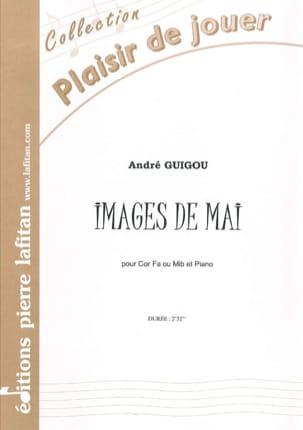 Images de Mai André Guigou Partition Cor - laflutedepan